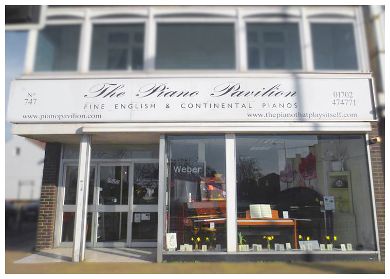 The Piano Pavilion -pianos bought and sold in Westcliff-on-sea, Essex