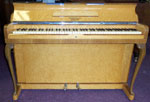 Kemble Minx Piano in Bird's Eye Maple for sale