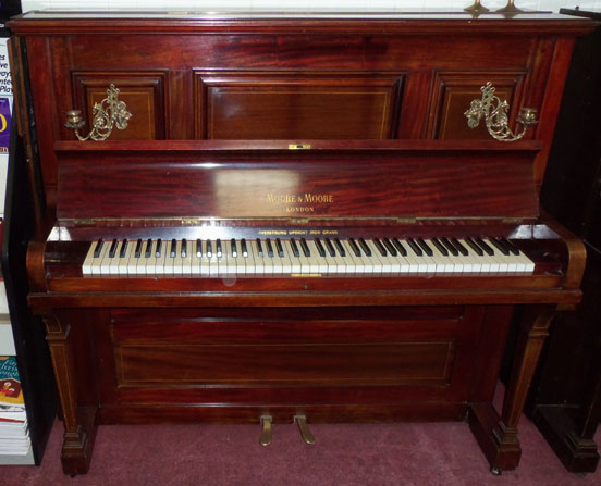 Piano Pavilion Moore Amp Moore Upright Piano For Sale In Essex